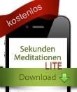 Sekunden Meditationen Lite - kostenlose App von FindYourNose.com