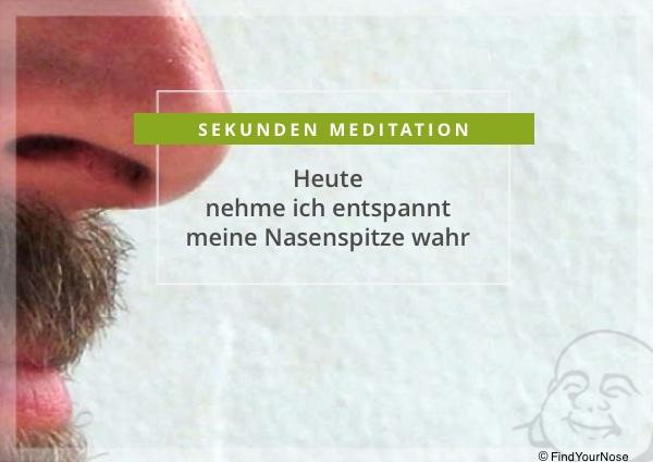 Nasenspitzen Meditation von FindYourNose