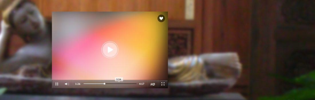 Spirituelles Video des Tages über Meditation