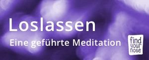 Loslassen - Audio CD, geführte Meditation bestellen