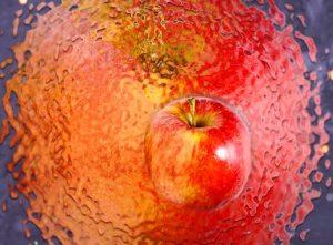 Apfel Beispiel zur Anschauung vom Quantenfeld