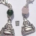 Versilberter Buddha Anhänger von FindYourNose