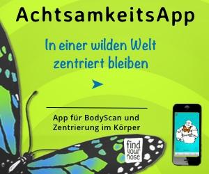 FindYourNose App Zentrierung