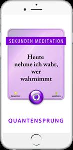 App 99 Sekunden Meditationen