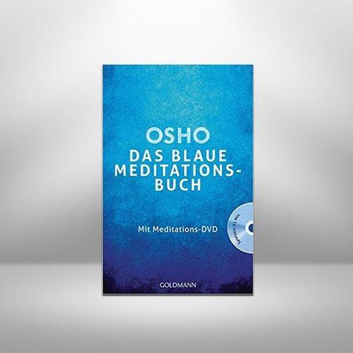 Das blaue Meditationsbuch: Mit Meditations-DVD