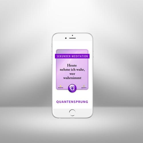 99 Sekunden Meditationen – App mit Sekunden-Anleitungen zur Meditation