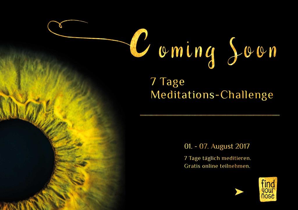 7 Tage Meditations-Challenge