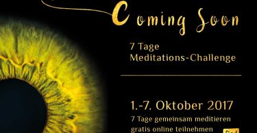 Meditations-Challenge im Oktober 2017
