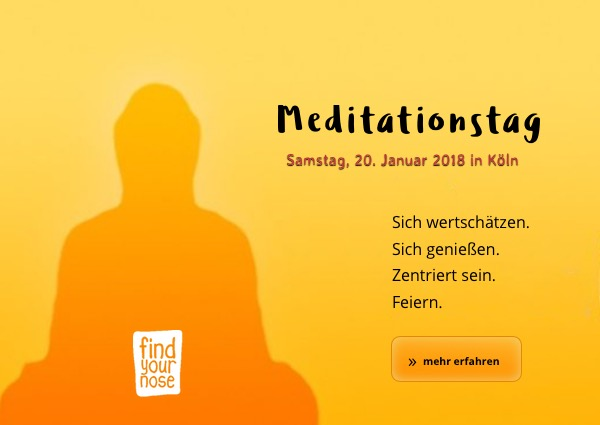 Meditationstag am 20. Januar 2018 in Köln