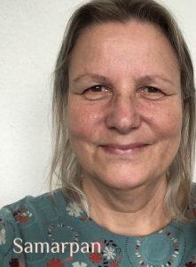 Samarpan P. Powels-Böhm, Herausgeberin von FindYourNose – Online Magazin für Meditation