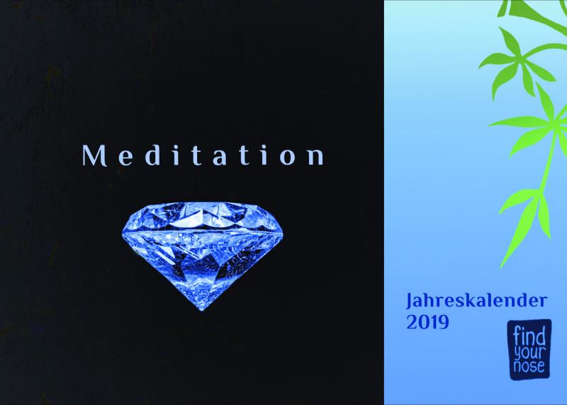 Tischkalender 'Meditation' 2019