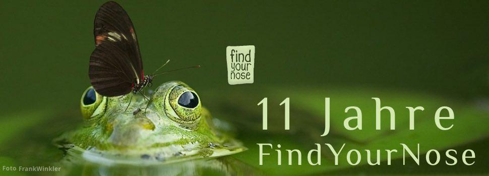 FindYourNose Jubiläumsseite