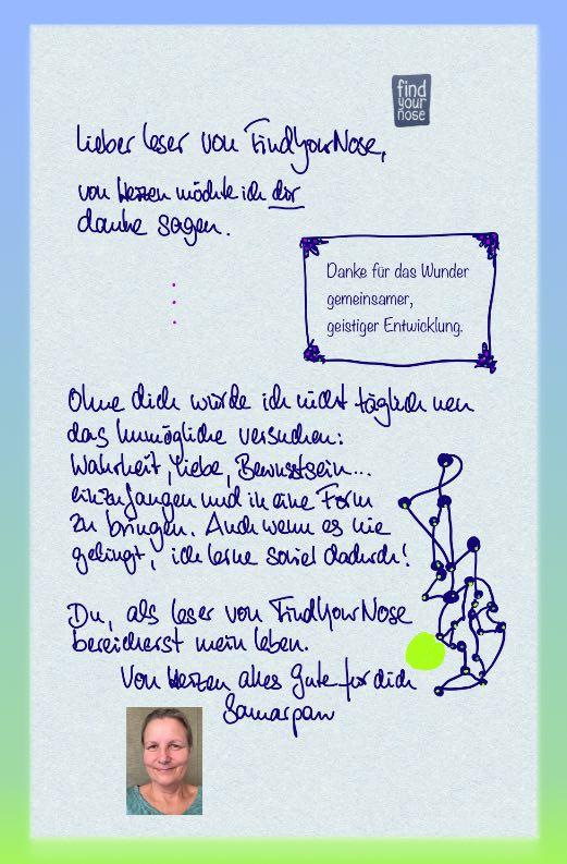 Brief an die Leser