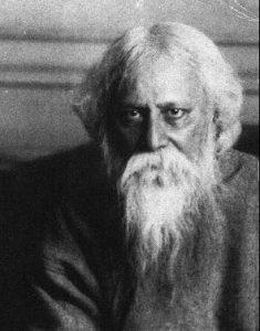 Rabindranath Tagore, Nobelpreisträger, Dichter, Philosoph, Maler, Komponist