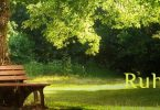 Wochenmeditation Ruhe