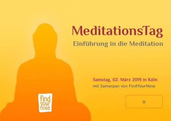 Meditationstag in Köln