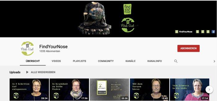 FindYourNose Youtube Kanal