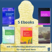5 EBooks für ein reiches Leben mit Meditation