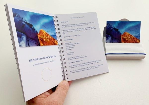 alterslos Meditationskarten und Handbuch