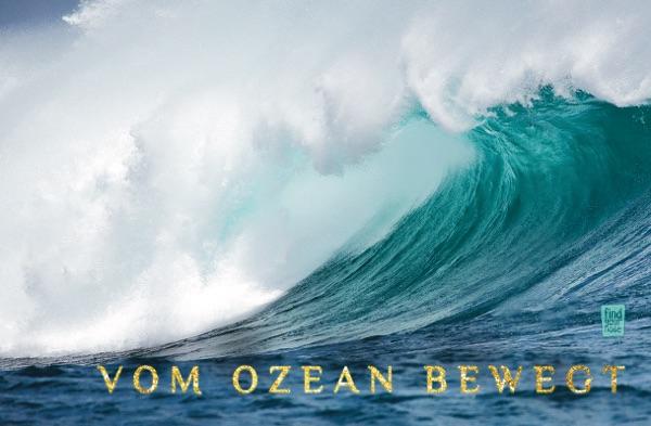 Bewegt vom Ozean – alterslos Meditationskarten