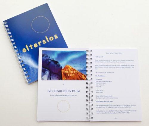 alterslos – Anleitungsbuch für 21 Meditationen